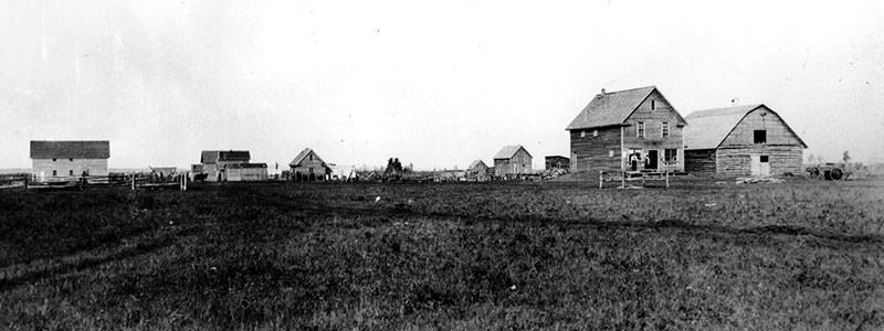 Grande Prairie Downtown Settlement circa 1969